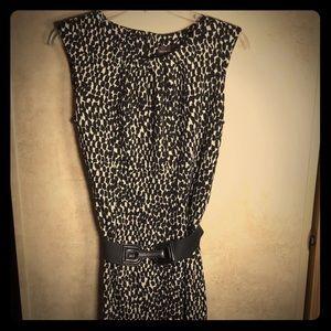 Dana Buchman Leopard Print Dress Sleeveless & Sexy